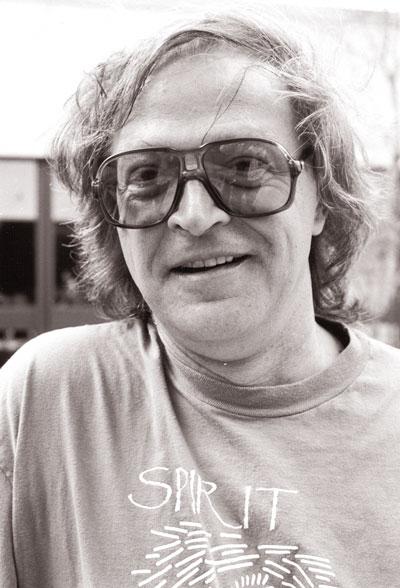 bill bissett, 1992. Photo by Alan Twigg.