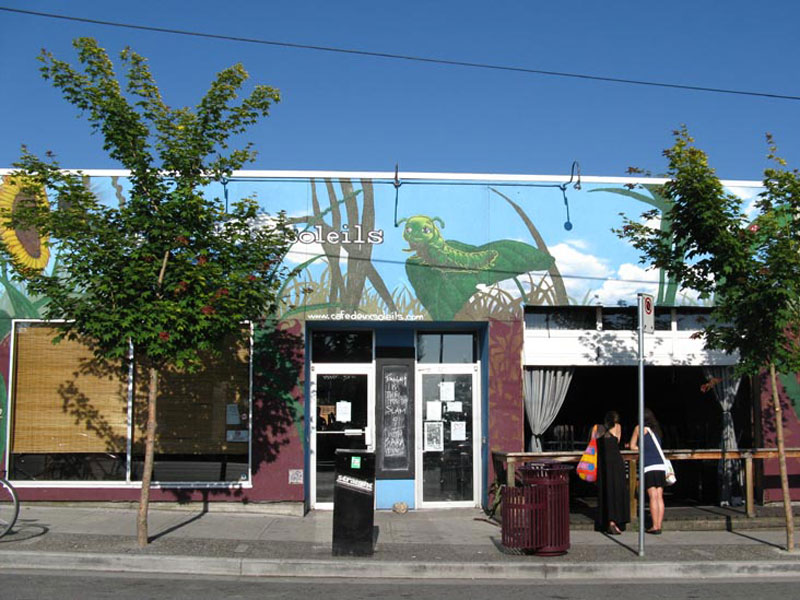Cafe Deux Soleil in East Vancouver