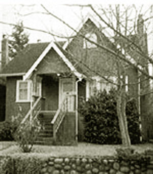 Margaret Laurence's Vancouver home.