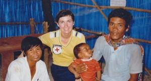 Harvey, Elaine Cambodia 1 nurse