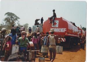 Harvey, Elaine Cambodia 3 water truck
