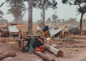 Harvey, Elaine Cambodia 4 camp 1980