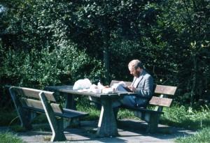 Wilson John researching in Belgium