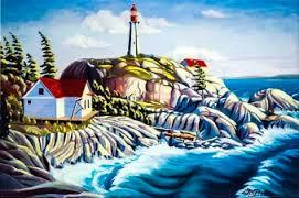 lighthouse-park-colour-painting