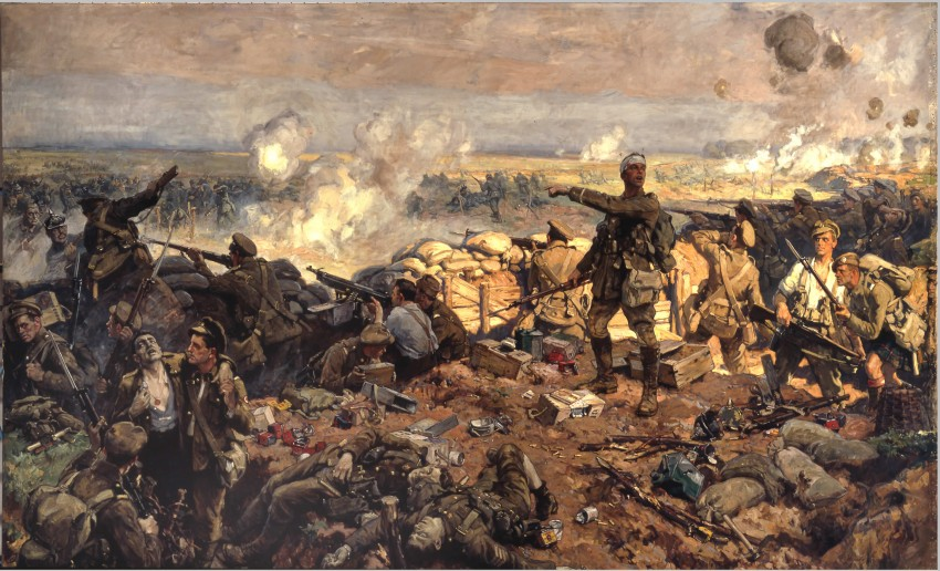 15-richard-jack-the-battle-of-ypres-canadian-troops-at-2nd-battle-fo-ypres-april-may1915