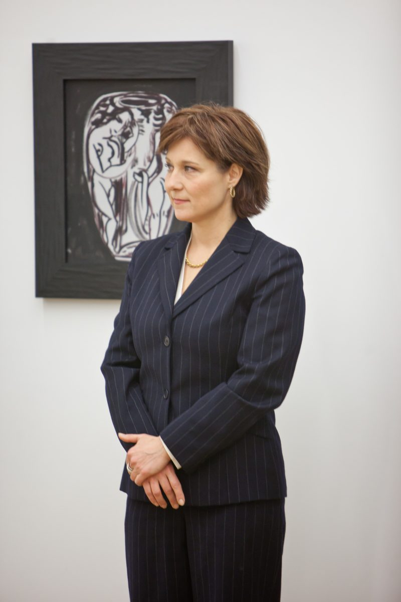 Christy Clark at Rennie Collection - Wing Sang Building, 2011. Kris Krug photo.