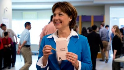 tyabji-4-christy-clark-at-polling-station-burnaby-may-2013-photo-by-jonathan-hayward-canadian-press