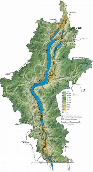 okanagan lake depth map 622 The Secrets Of Okanagan Lake Bc Booklook okanagan lake depth map